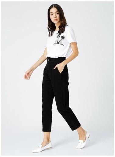 Fabrika Fabrika Kadın Siyah Denim Pantolon Siyah